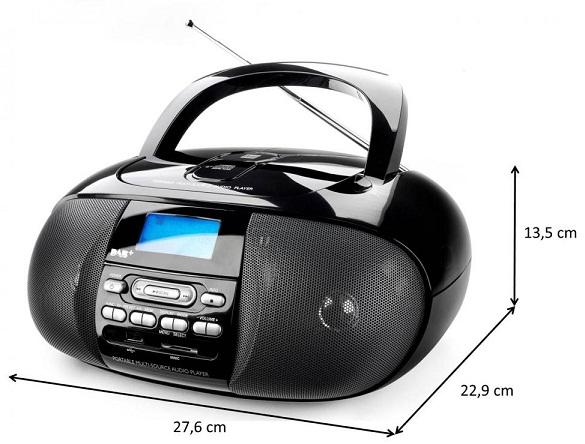 cd radio cyfrowe dab usb sd hi fi mp3 dual dab 43. Black Bedroom Furniture Sets. Home Design Ideas