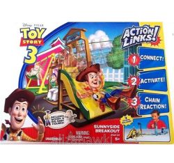 TOY STORY 3 Disney PIXAR  PLAC ZABAW Action Links