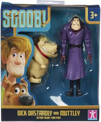 Scooby-Doo Zestaw Figurki Super Scoob Dick Dastardly i Muttley