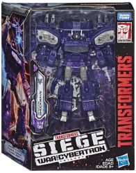 Figurka SHOCKWAVE Transformers Siege Oblężenie WFC LEADER