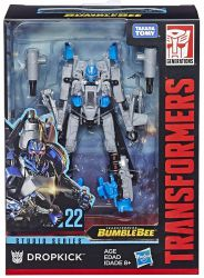 Figurka Transformers Dropkick DELUXE BLUE LIGHT Generations Studio Series
