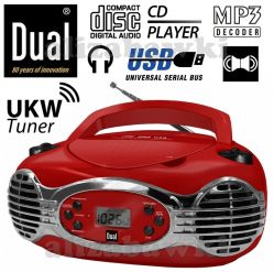 DUAL Stereo CD Radio RETRO CD/MP3 USB Led