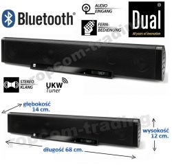 Głośnik Radio Soundbar Dual S2 Bluetooth