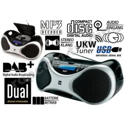 CD/Radio Cyfrowe DAB+USB/SD Mp3 Dual DAB -P100