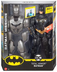 Batman Missions Total Armor Batman 30 cm Figure 12 INCH LIGHTS & SOUNDS