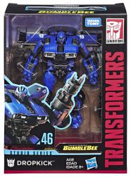Figurka Transformers Dropkick Generations Studio Series DELUXE BLUE LIGHTNING