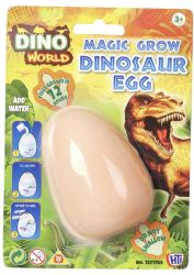 Dinozaur duże Jajo do Wyklucia Wzrostu MAGIC DINOSAUR EGG
