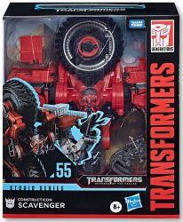 DUŻA Figurka Transformers Constructicon Scavenger GENERATIONS STUDIO SERIES Leader Class