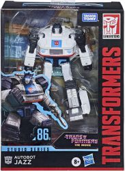 Autobot JAZZ Figurka Transformers Generations Studio Series DELUXE