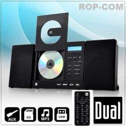 Wieża stereo Dual Vertical 150 MP3-CD USB SD AUX Pilot