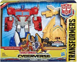 Figurka TRANSFORMERS CYBERVERSE ARK POWER OPTIMUS PRIME